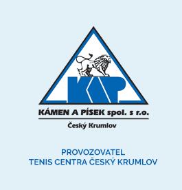 Kámen a písek, spol. s r.o. - provozovatel TenisCentra Český Krumlov